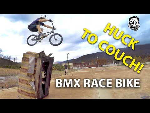 riding-street-on-a-bmx-race-bike-|-featuring-skills-with-phil