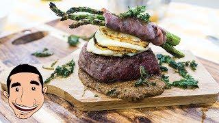 GRILLING BEEF TENDERLOIN STEAK | Eye Fillet Temptation | Italian Food Recipes