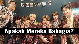 Apakah Member BTS Bahagia dengan Big Hit Entertainment?
