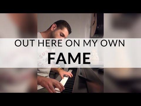 Out Here On My Own - Fame  (Piano Cover)