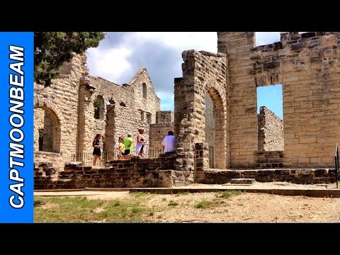 CASTLE RUINS! Ha Ha Tonka State Park at Lake of the Ozarks Missouri
