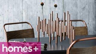 Diy Project: Copper Vase Centrepiece - Homes+