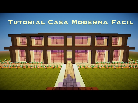Tutorial casa moderna facil asurekazani for Casa moderna tutorial facil de hacer