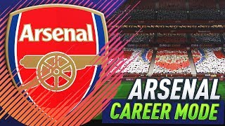 FIRST EUROPA LEAGUE GAME!!! FIFA 18 ARSENAL CAREER MODE #5