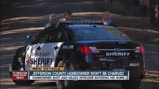 Jeffco homeowner won't be charged in shooting death