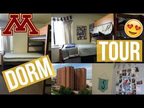 COLLEGE DORM TOUR!! | University of Minnesota