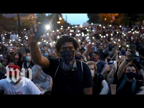 Massive crowds demonstrate
