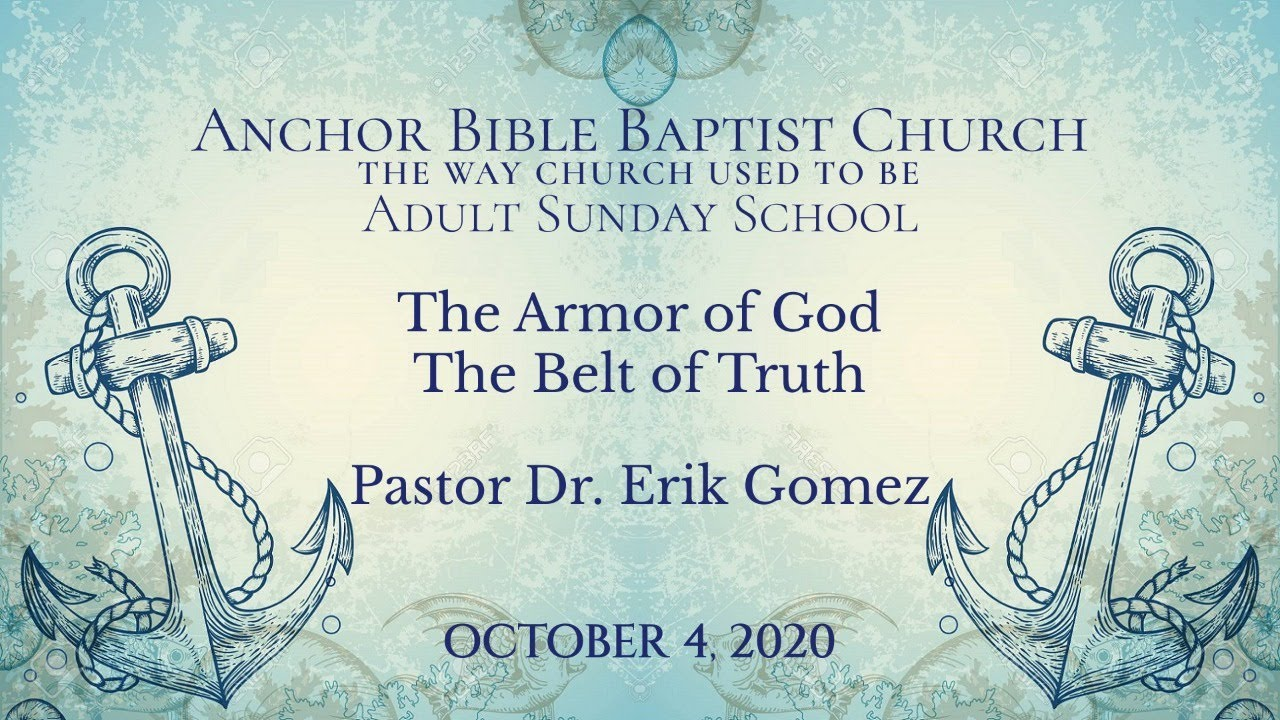 The Armor of God The Belt of Truth