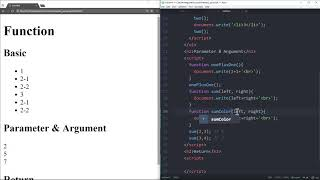 WEB2 JavaScript - 27.함수 (리턴)