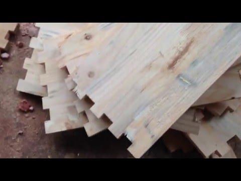 Máy làm thùng gỗ nuôi ong mật- Cách làm thùng nuôi ong mật