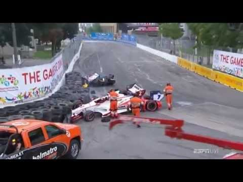 Video Of Indy Car Crashes