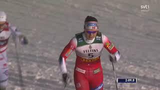 Cross Country Skiing WC Ruka 2019 Ladies Sprint Final