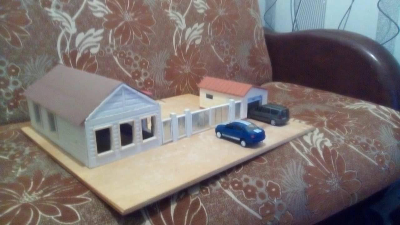 Дом из гипса