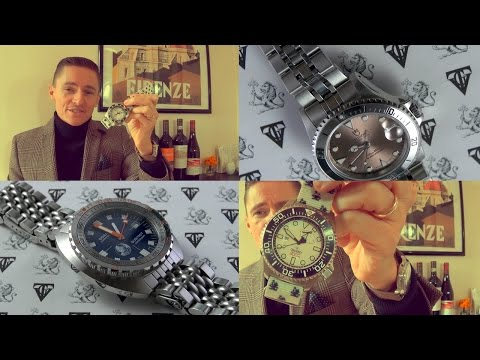 Diver Special - Doxa Sub750T Caribbean, Tudor Submariner 75190 Watch Review & Orient WV0121EL