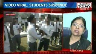 Moradabad: Boy thrashed by classmates to make viral whatsapp video