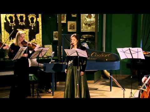 И.M. Глетле «Omnispulchri tudo Domino» для сопрано, 2-х скрипок и Basso continuo.