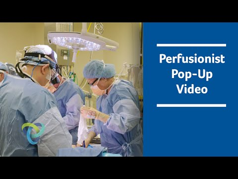 Perfusionist Pop-Up Video