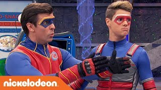 Does Captain Man Know How to Spell? 🔤   Henry Danger   Nick