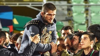 Khabib Nurmagomedov 'War Is Not a Game' UFC Champion