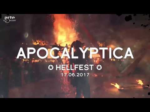 Apocalyptica @ Hellfest 17.06.2017 Full Show