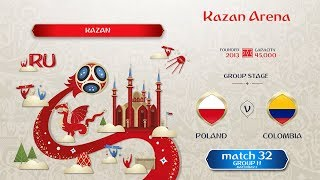 FIFA 18 WC-2018   #match32   Group H matchday 2   Poland vs Colombia