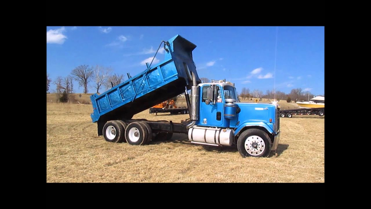 2015 Chevy Silverado For Sale >> 1979 Chevrolet Bison dump truck for sale | sold at auction February 25, 2015 - YouTube