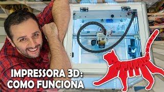 Como funciona a impressora 3D #ManualMaker Aula 14, Vídeo 1