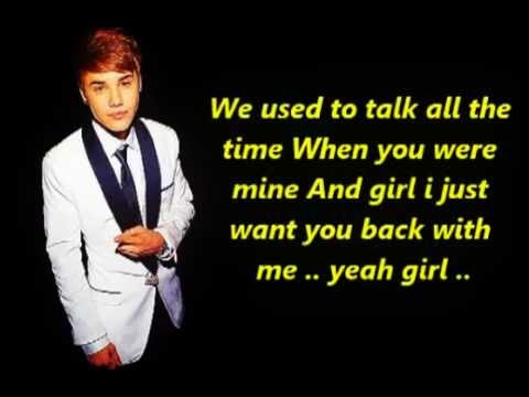 Justin bieber - Tell me (Lyric)