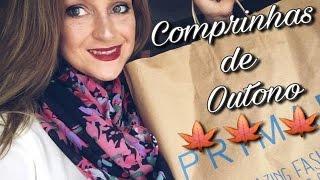 Comprinhas de outono na  Zara,Primark,New look,Victoria secrets