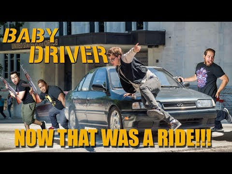 Baby Driver - Movie Review (No Spoilers)