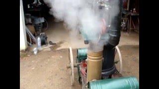 le poele a vapeur avec son petit moteur