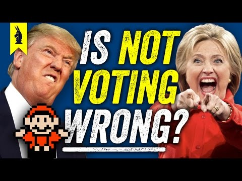 Is It WRONG If You Don't Vote? (Trump vs. Hillary) – 8-Bit Philosophy