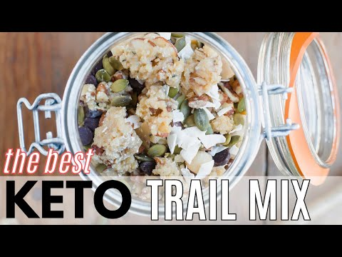 KETO TRAIL MIX The BEST Keto Snack for Camping