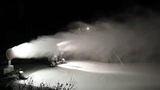 겨울왕국 만드는 눈기계 Artificial snow m…