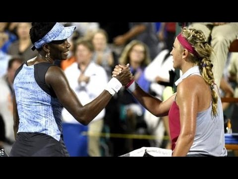 Venus Williams VS Victoria Azarenka Highlight 2014