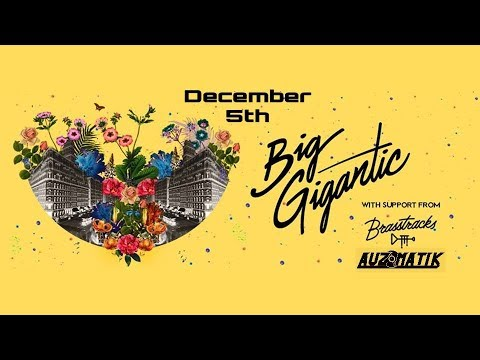 On Stage with Big Gigantic, Brass Tracks, and Auzomatik at the Knitting Factory
