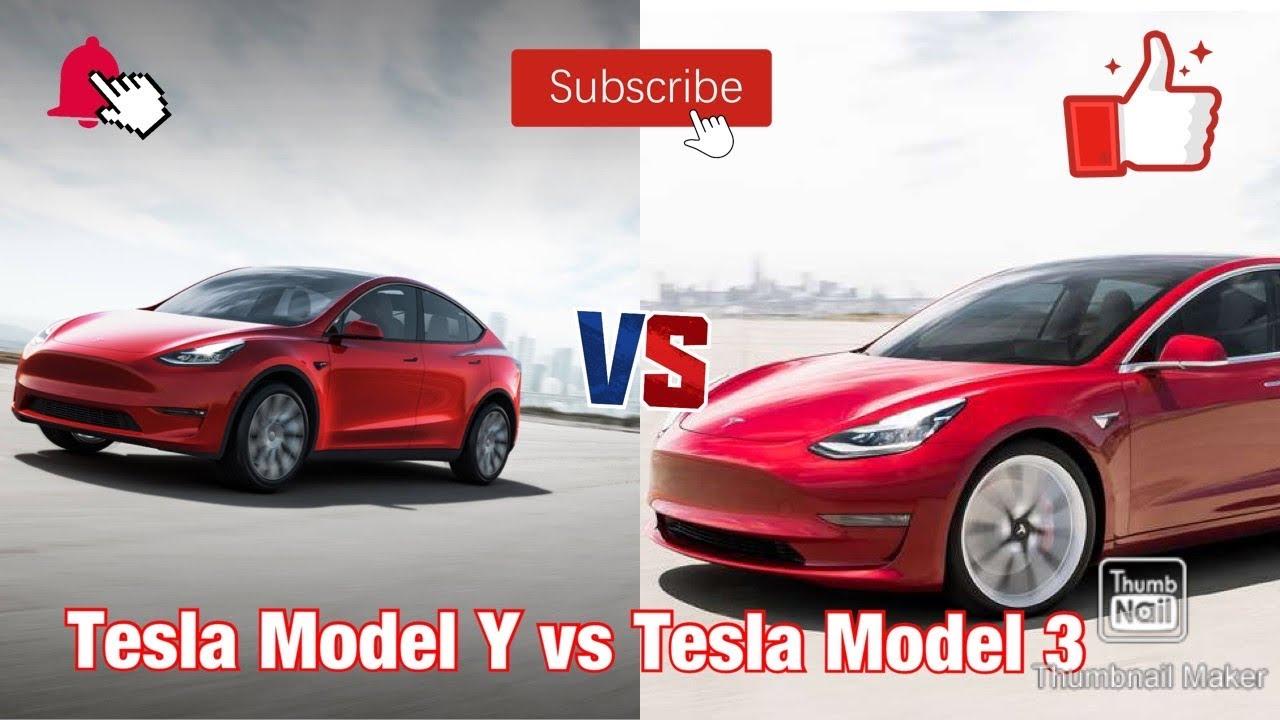 Tesla Model Y vs Tesla Model 3 (Differences) - YouTube