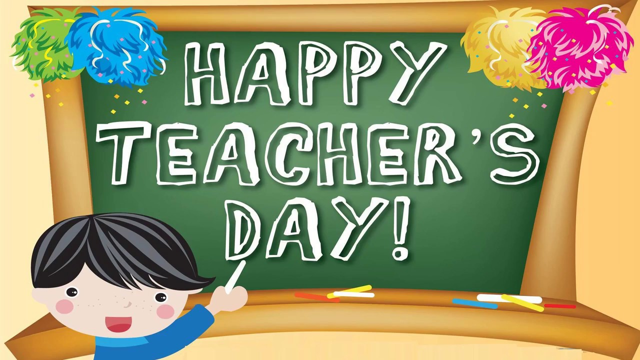 Happy teachers day wishes greetings card video message youtube happy teachers day wishes greetings card video message kristyandbryce Image collections