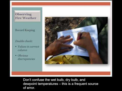 Lesson 3: Fire Weather
