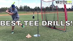 Top 10 Baseball Tee Drills  [No Partner Needed!]