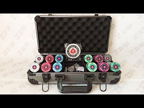 Эксклюзивный покер-набор 300 фишек EPT PokerStars 300 Ceramic Chips Set