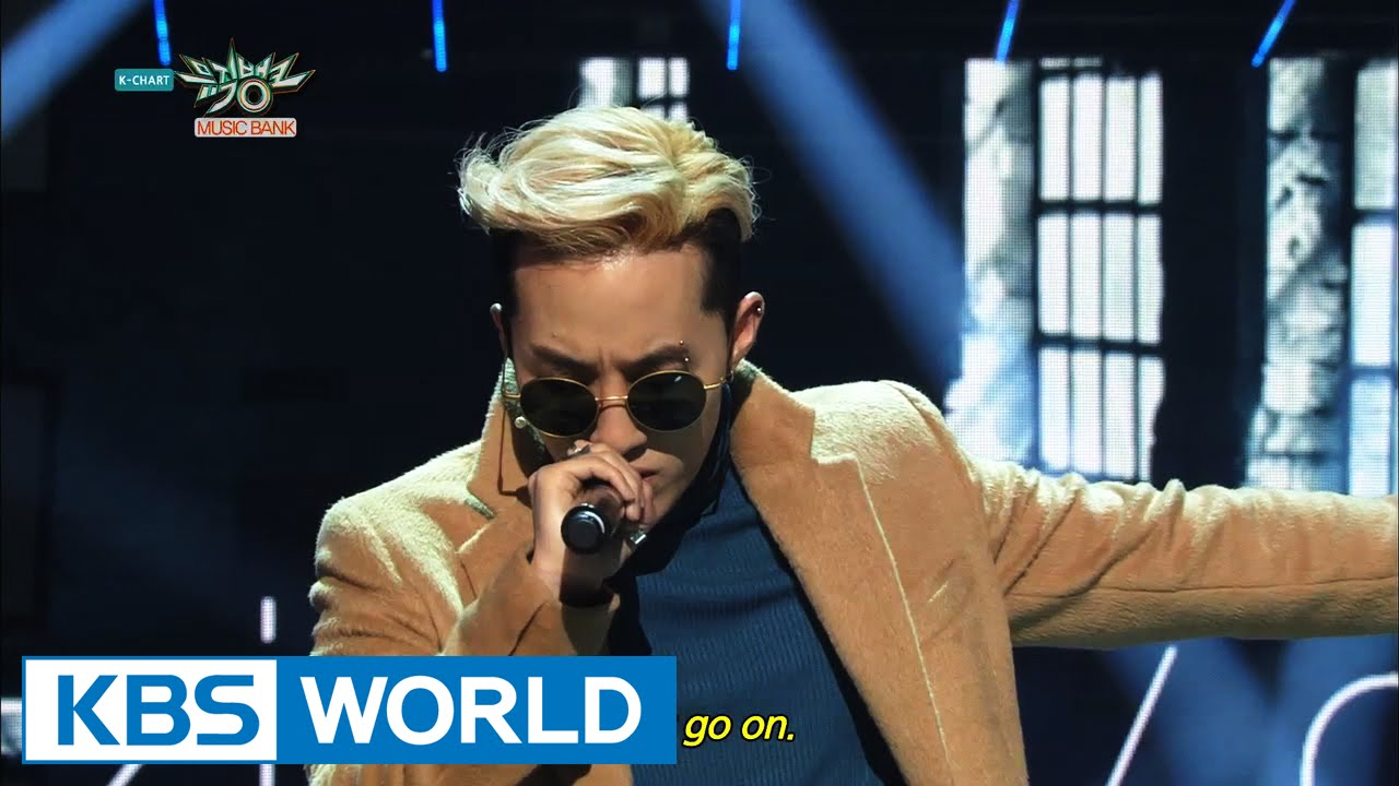 Zion.T & Crush - Just | 자이언티 & 크러쉬 - 그냥 [Music Bank HOT Stage / 2015.02.06]