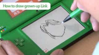 Flipnote Zelda Contest - How to draw Toon Link and Link