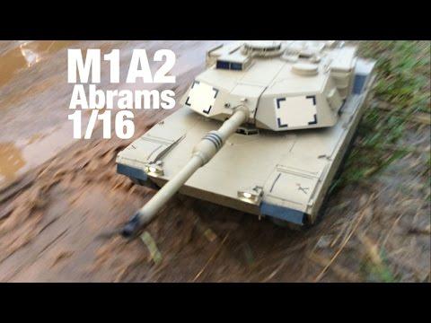 Off-Road RC Tank M1A2 Abrams