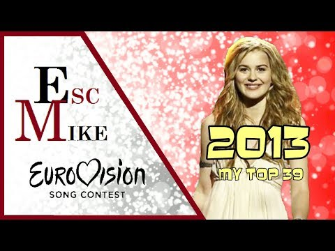 Eurovision 2013 - My Top 39 [With Rating]