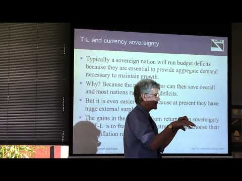 Professor Bill Mitchell - Currency sovereignty and employment guarantees in Timor-Leste