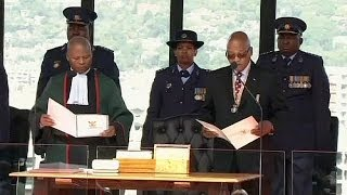 Jacob Zuma sworn in as president of South Africa