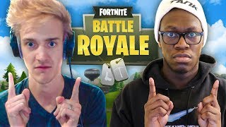 DEJI AND NINJA DUOS!! (Fortnite: Battle Royale)