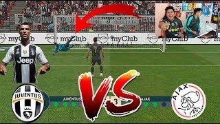 !!JUVENTUS vs AJAX!!! EPIC !! UEFA Champions League ( RETO PENALES )