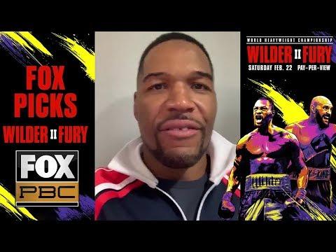 FOX Sports Talent Makes Their Predictions For Wilder Vs Fury 2 | PBC ON FOX